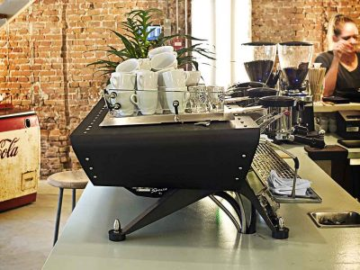 Three Group Espresso Machine Spirit