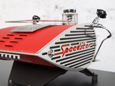 SPEEDSTER  RED BODY  BLACK FRAME   SIDE PANELS BLACK-RED