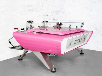 Custom Espresso Machine Spirit Pink