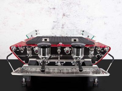 Commercial Espresso Machine Spirit Red