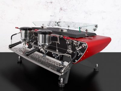 Commercial Coffee Machine Spirit red