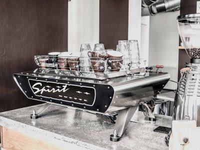 Two Group Coffee Machine Spirit