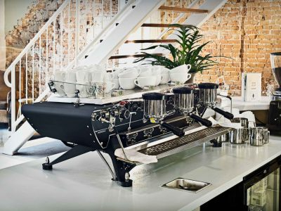 3 Group Espresso Machine Spirit