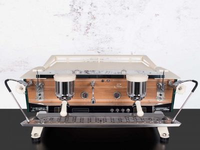 Espresso Machine Slim Jim Custom White