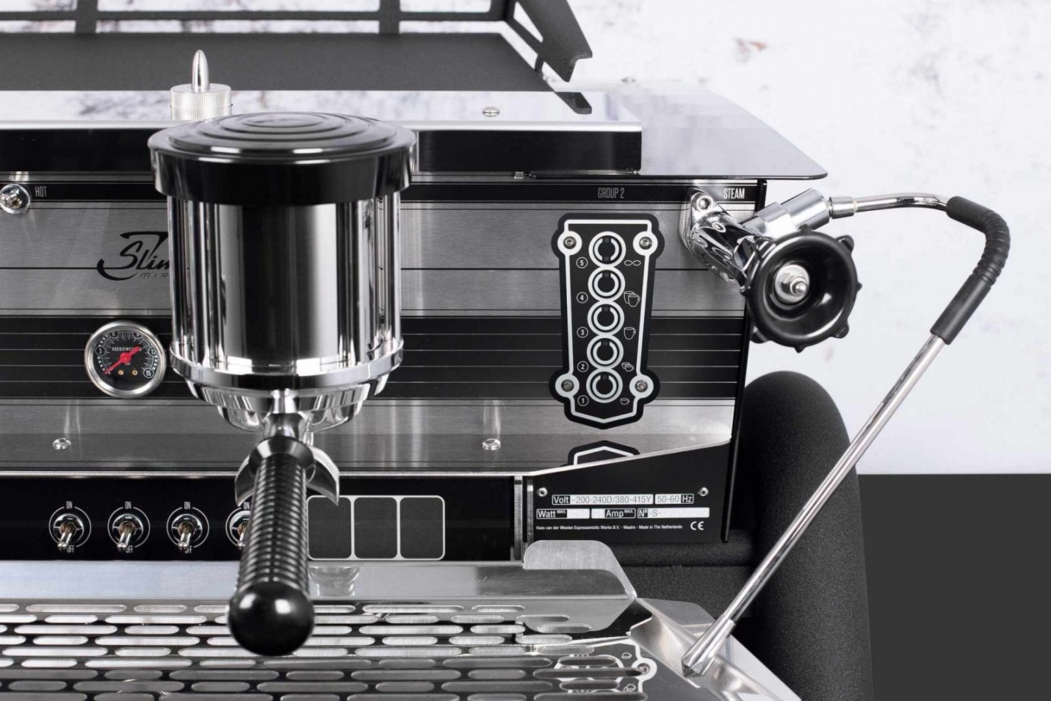Multi Boiler Espresso Machine Slim Jim
