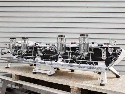 Four Group Espresso Machine Custom